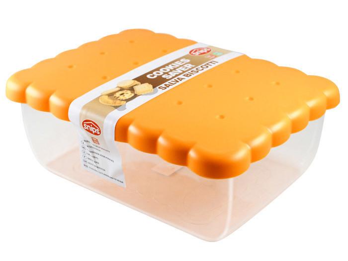 Контейнер Snips для зберігання солодощів, печива, випічки 2.7 л, Помаранчевий