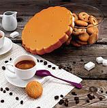 Контейнер Snips круглий для зберігання солодощів, печива, випічки 1.8 л, Помаранчевий, фото 3