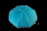 Зонт TE-002 блакитний, фото 3