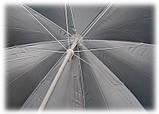 Зонт TE-002 блакитний, фото 9