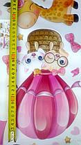 """Декоративные наклейки для детского сада, в детскую на стены """"котята в воздушном шаре """" 55*80см (лист50*70см), фото 3"""