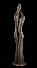 """Статуетка S370/A """"Пара"""" 43 см, коричн."""