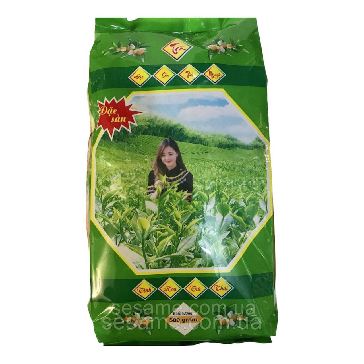 Вьетнамский фирменный Зеленый чай Tra Xanh đặc sản 200г (Вьетнам)