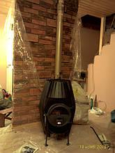 Булерьян Б15 со стеклом монтаж в загородном доме. Подключение и обслуживание котлов на твердом топливе . Дымоходы
