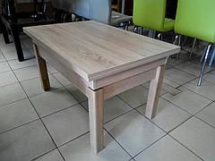 Стол-трансформер Флай (Дуб Сонома) (ножки светлые)