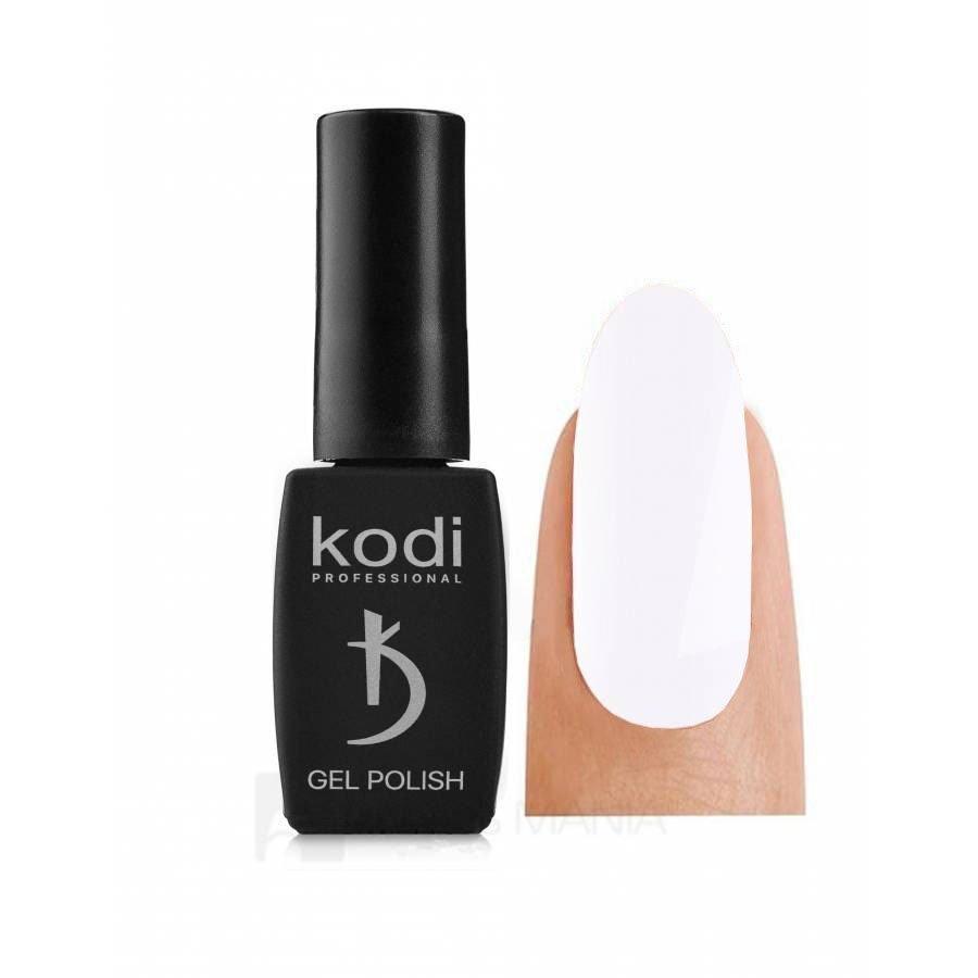 Гель-лак Kodi 01 BW (Ярко-белый), 8 мл
