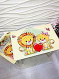 """Комплект стіл і стілець 1 укріплений дитячий """"Левенята"""", фото 7"""