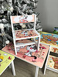 """Комплект стіл і 2 укріплених стільця дитячих """"Кіт і собака"""", фото 7"""