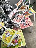 """Комплект стіл і 2 укріплених стільця дитячих """"Кіт і собака"""", фото 8"""