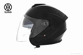 Шлем открытый  VLAND  #703, L, Black