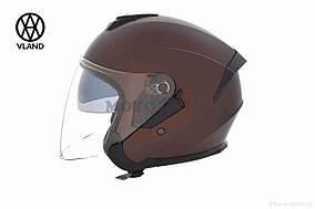 Шлем открытый  VLAND  #703, XS, Bronze mat