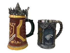 Подарунковий набір Гуртка Game Of Thrones House Lannister і Гра Престолів Game Of Thrones Winter Coming