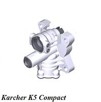 Набор з/ч распределительной головки FC Karcher K5 Compact
