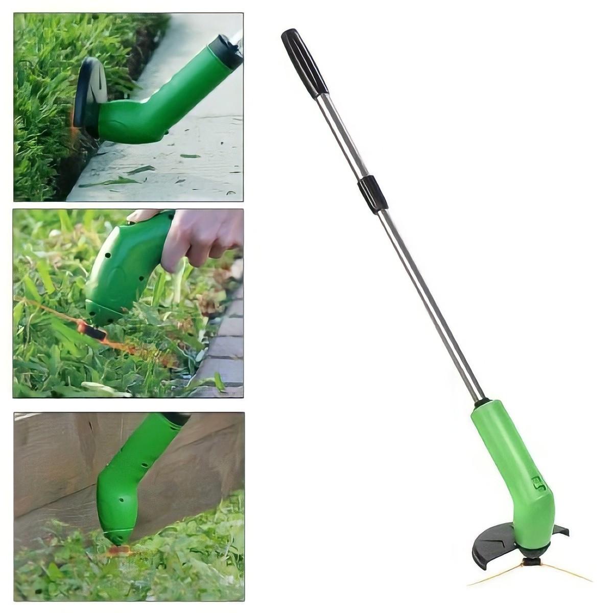 Ручная беспроводная газонокосилка Zip Trim   Беспроводной аккумуляторный триммер для травы Zip Trim