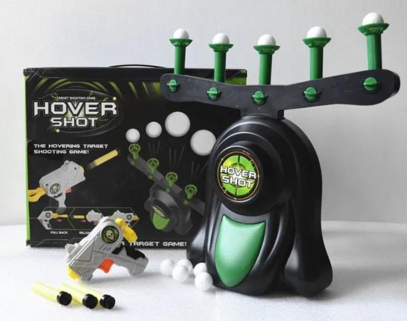 Игрушка Hover Shot Стрельба по парящим шарикам   Летающие мишени стрельба