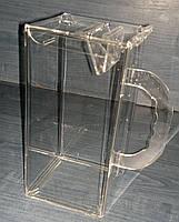Бокс акриловый для благотворительности 200_100_100 мм