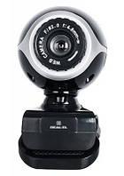 Недорогая Веб-камера REAL-EL FC-100 черная