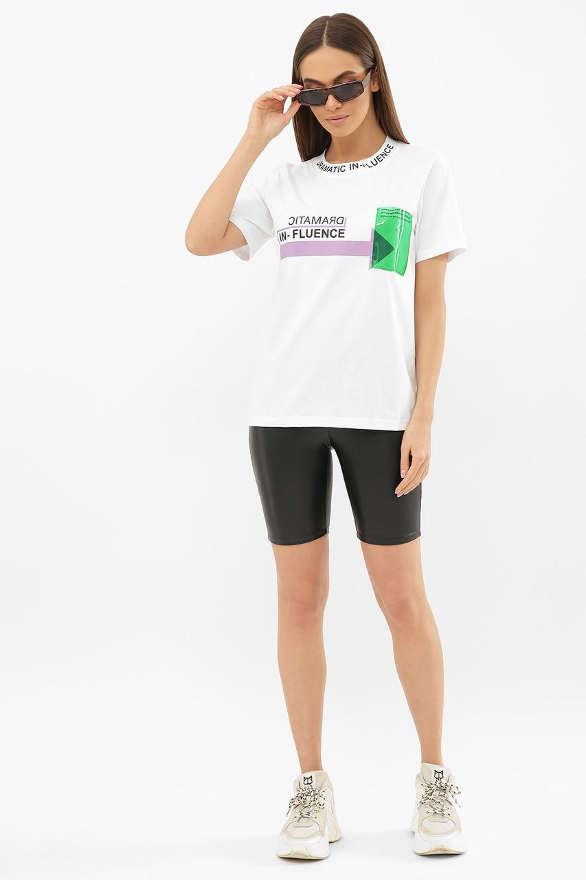 ЖІНОЧА футболка 6047 ФУТБОЛКА VR-Y Розміри S M L