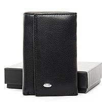 Мужской кожаный кошелек-ключница M6 black.Купить оптом и в розницу кожаные ключницы.
