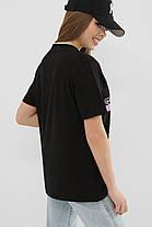 ЖІНОЧА футболка 6047 ФУТБОЛКА VR-Y Розміри S M L XL, фото 2