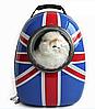 Рюкзак-переноска з ілюмінатором для перенесення тварин SpaceX Великобританія 42-32-29 см