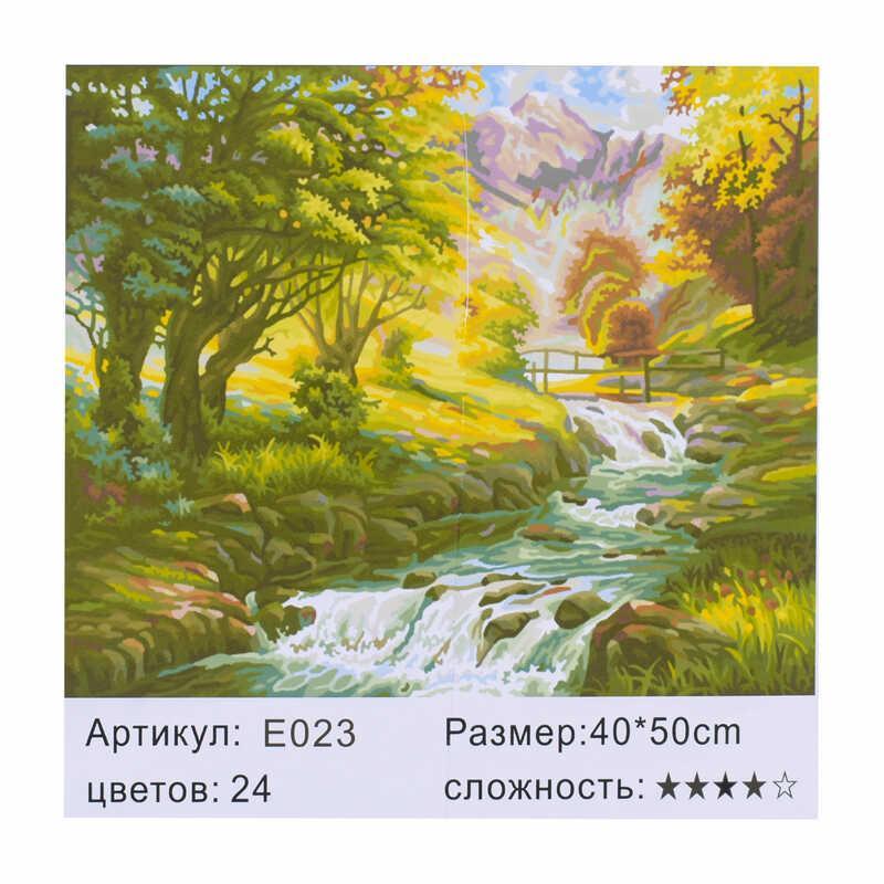 Картина по номерам E 023 (30) 40х50см, в коробке