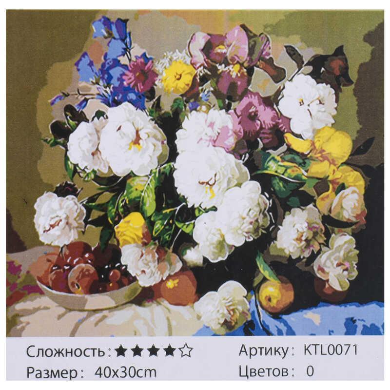 Картина по номерам KTL 0071 (30) 40х30см, в коробке
