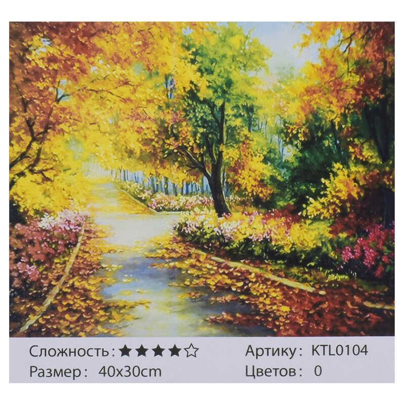 Картина за номерами KTL 0104 (30) 40x30 см