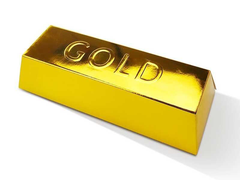 """Гр Креативне творчість для проведення розкопок """"Gold"""" злиток великий Gex-01-01 (6) """"ДАНКО ТОЙС"""""""