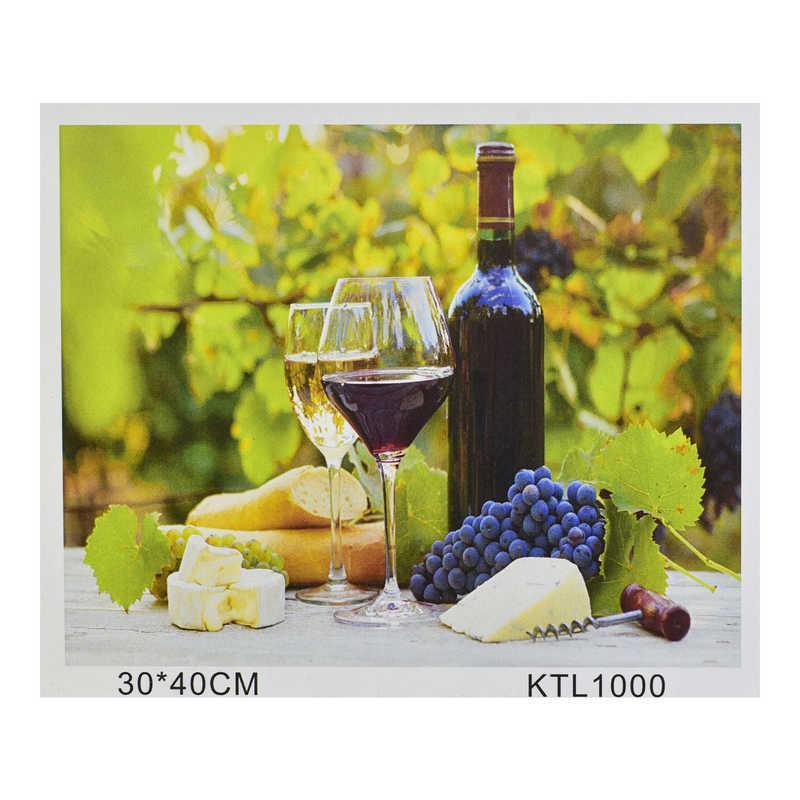 Картина по номерам KTL 1000 (30) в коробке 40х30