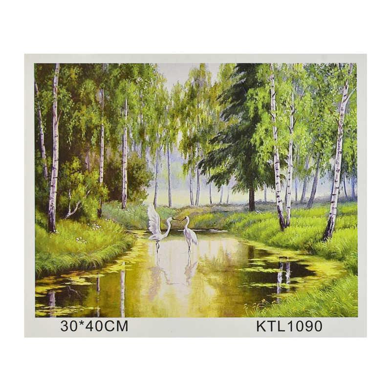 Картина за номерами KTL 1090 (30) в коробці 40х30