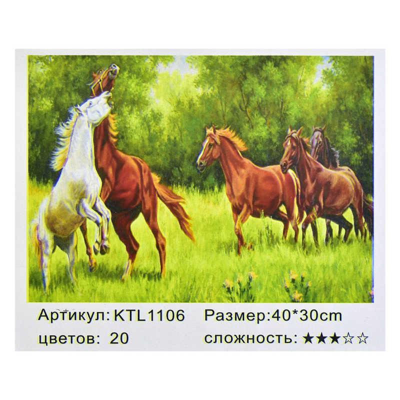 Картина по номерам KTL 1106 (30) в коробке 40х30