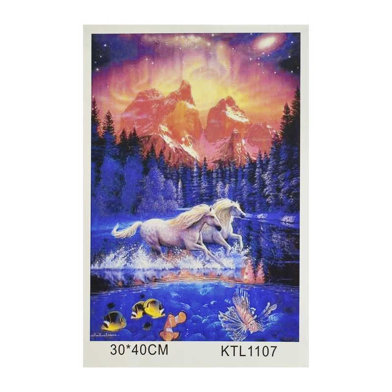 Картина за номерами KTL 1107 (30) в коробці 40х30