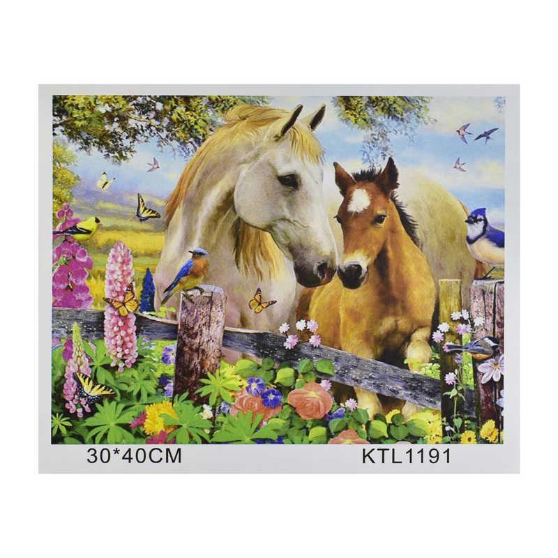 Картина за номерами KTL 1191 (30) в коробці 40х30