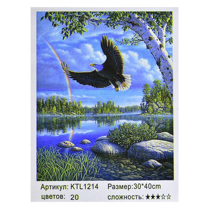 Картина по номерам KTL 1214 (30) в коробке 40х30