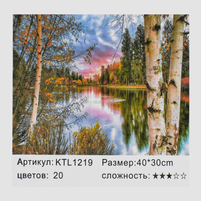 Картина по номерам KTL 1219 (30) в коробке 40х30