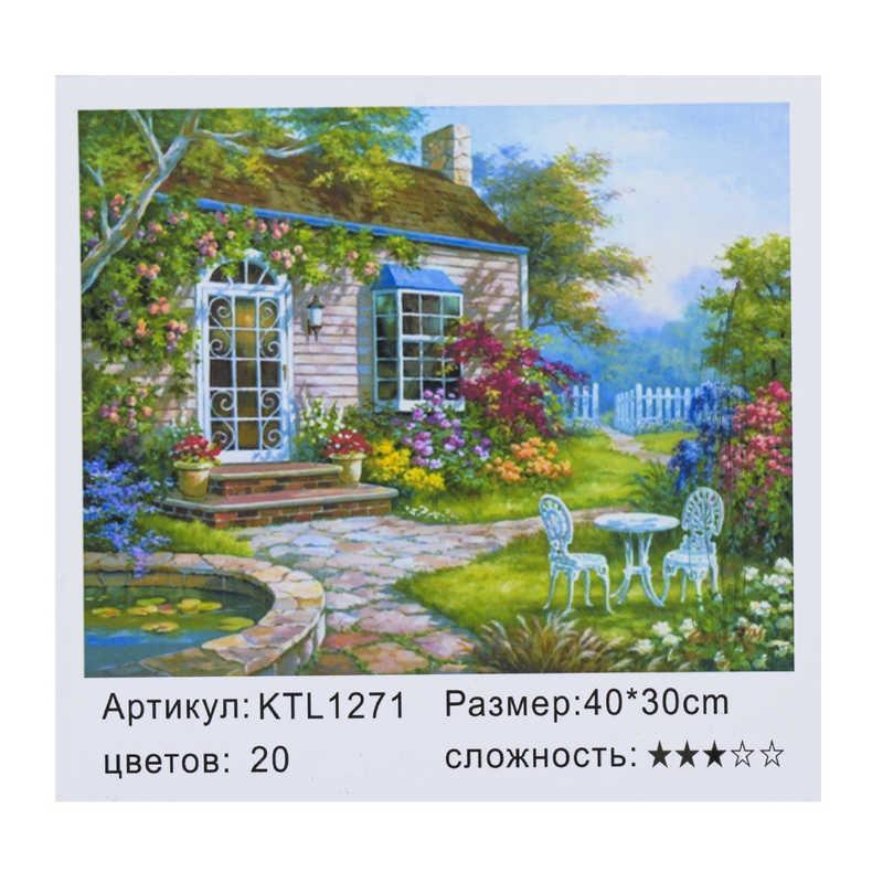 Картина по номерам KTL 1271 (30) в коробке 40х30
