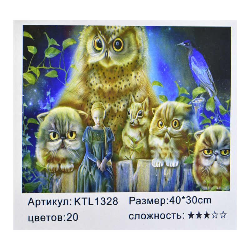 Картина по номерам KTL 1328 (30) в коробке 40х30