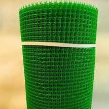 Сетка пластиковая садовая 10x10мм рулон 1м
