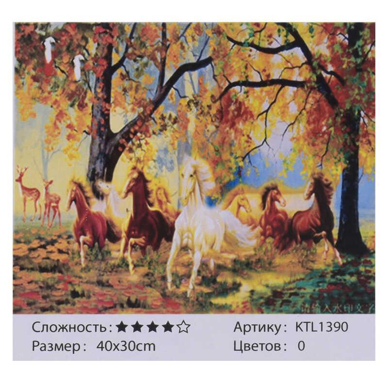 Картина за номерами KTL 1390 (30) 40x30 см, в коробці