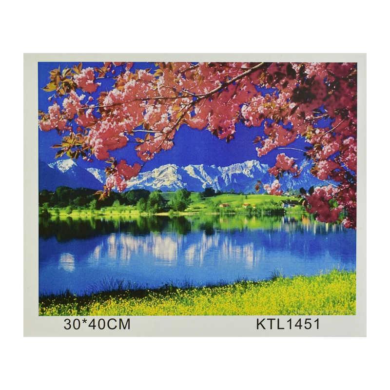 Картина по номерам KTL 1451 (30) в коробке 40х30