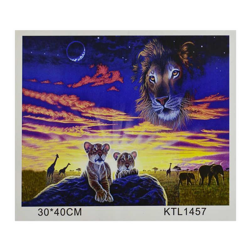 Картина за номерами KTL 1457 (30) в коробці 40х30