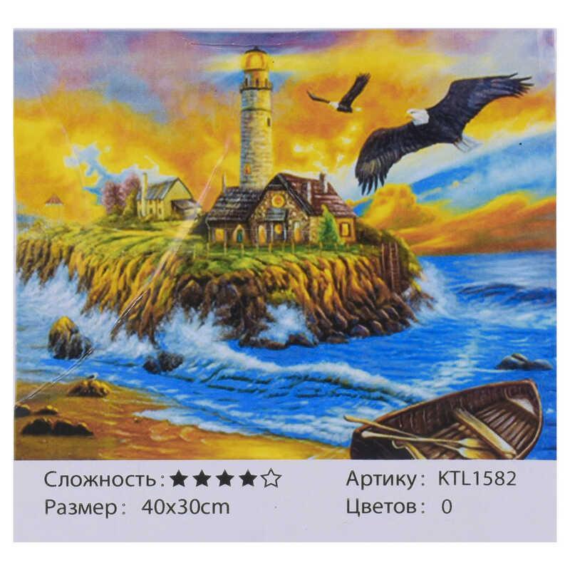 Картина за номерами KTL 1582 (30) 40x30 см, в коробці