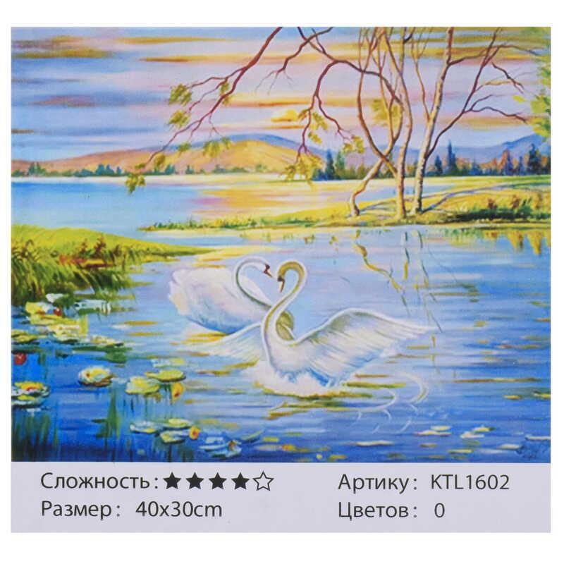 Картина по номерам KTL 1602 (30) 40х30см, в коробке