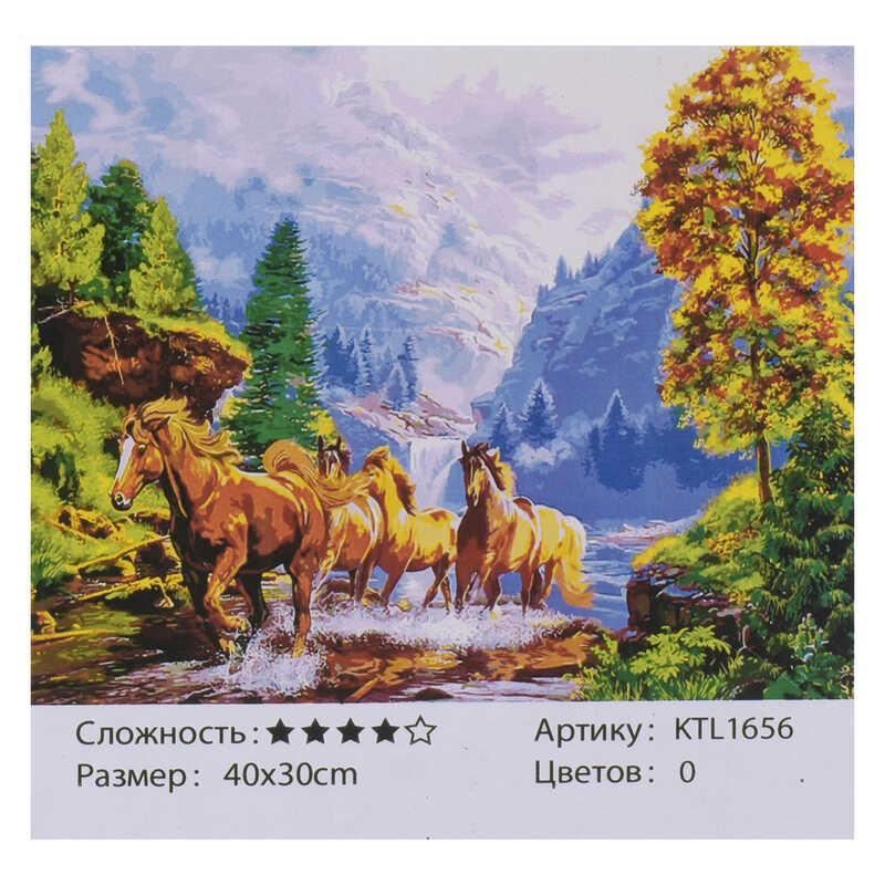 Картина по номерам KTL 1656 (30) 40х30см, в коробке
