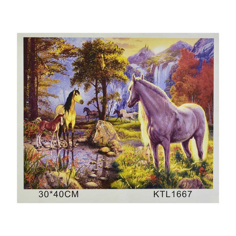 Картина за номерами KTL 1667 (30) в коробці 40х30
