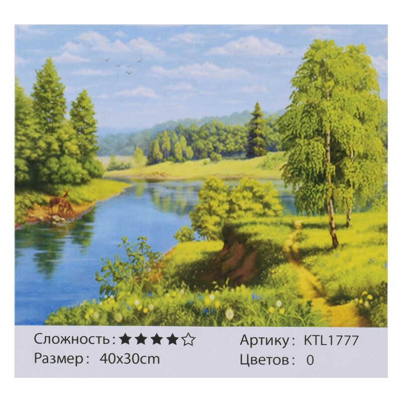 Картина за номерами KTL 1777 (30) 40x30 см, в коробці
