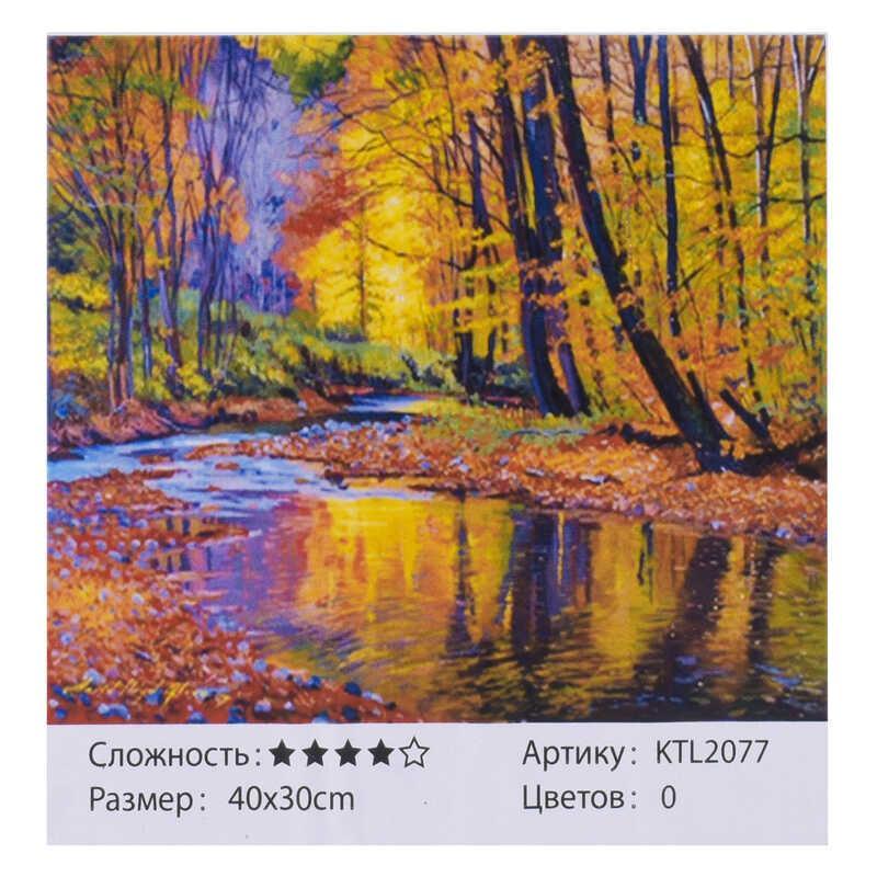 Картина по номерам KTL 2077 (30) 40х30 см, в коробке