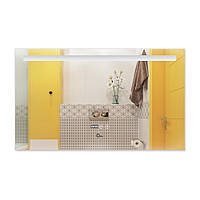 Зеркало для ванной 1000х600 с антизапотеванием LED подсветка Qtap Mideya DC-F609