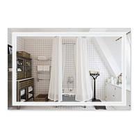 Зеркало для ванной с антизапотеванием 1200х800 Qtap Mideya LED подсветка DC-F613
